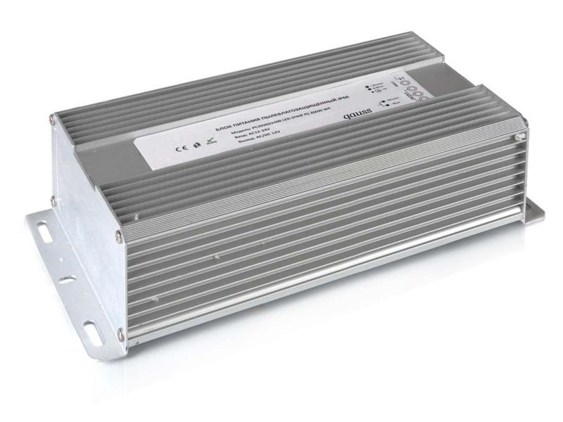 Блок питания Gauss 200W 12V IP66 PC202023200 / 202023200