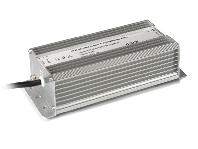 Блок питания Gauss 60W 12V IP66 PC202023060 / 202023060