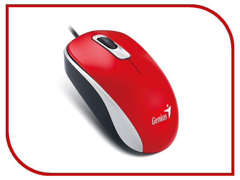 Мышь проводная Genius DX-110 Red<br>