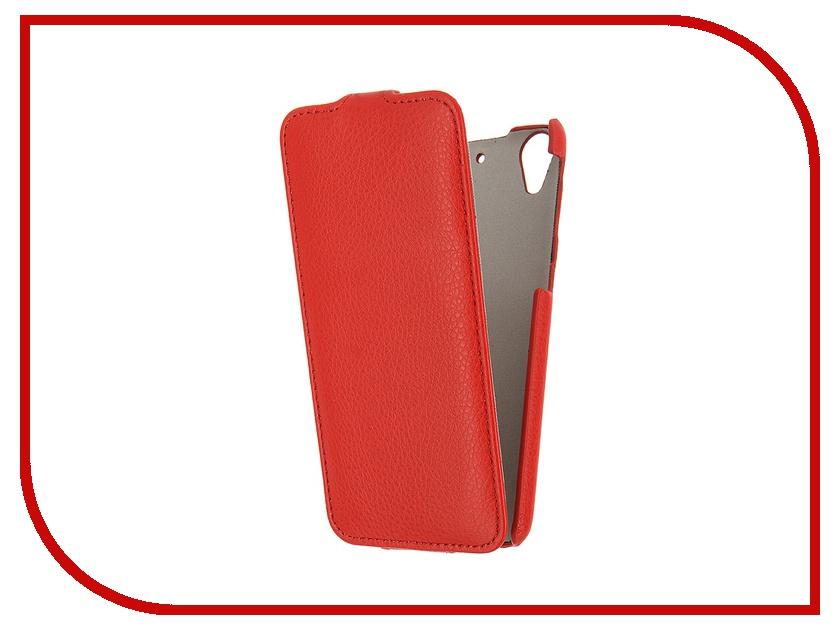 Аксессуар Чехол HTC Desire 626 Ainy Red кожаный<br>