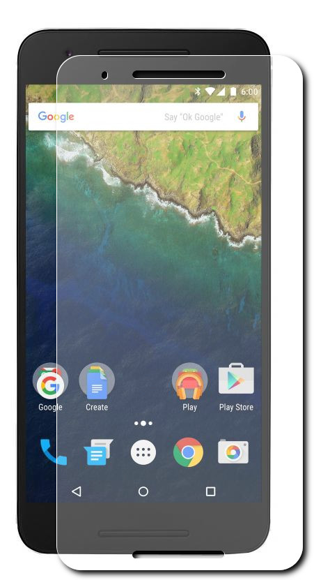 Аксессуар Защитное стекло Huawei Nexus 6P Ainy 0.33mm<br>