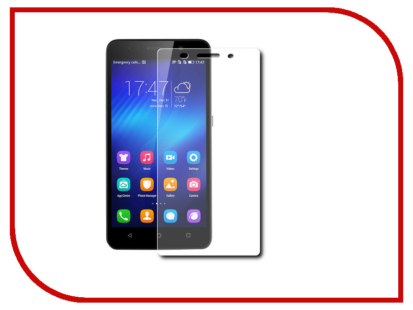 Аксессуар Защитное стекло Huawei Honor 4X Ainy 0.33mm<br>