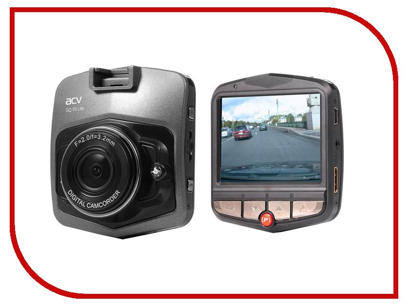Видеорегистратор ACV GQ115 Lite Black монитор в авто acv avm 1716 grey