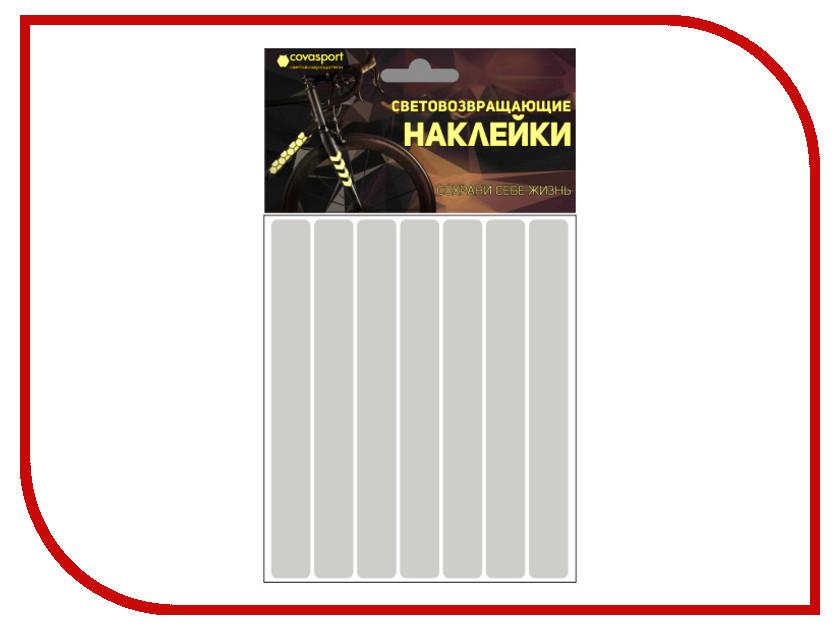 Светоотражатель Cova Sport Полоса набор наклеек Metallic 100x85mm 333-176 светоотражатель cova набор термоаппликаций прямоугольники 70x70mm 333 333
