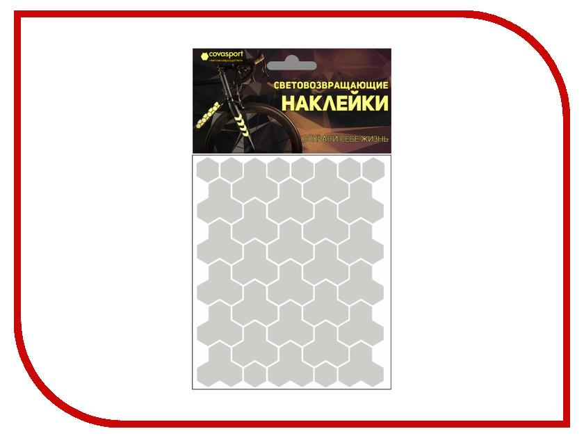 Светоотражатель Cova Sport Кристалл набор наклеек Metallic 100x85mm 333-161