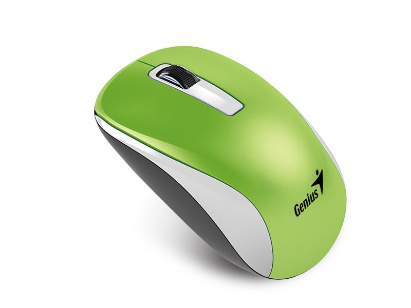 Мышь Genius NX-7010 Green мышь genius nx 7010 беспроводная 2 4ггц 1200dpi green