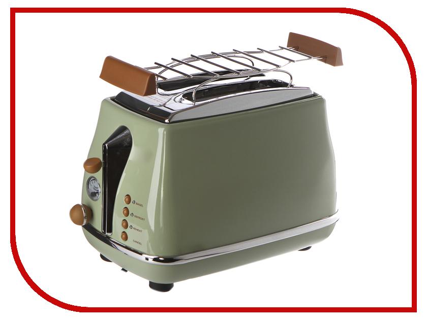 Тостер DeLonghi CTOV 2103.GR Green