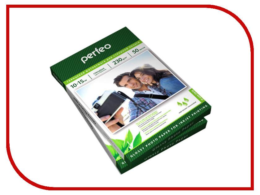 Фотобумага Perfeo PF-GLA6-230/500 10x15 230g/m2 глянцевая 500 листов матовая фотобумага inksystem matte photo paper 230g 10x15 100 листов
