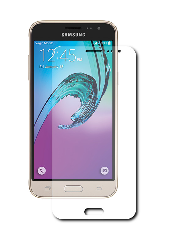 Аксессуар Защитная пленка Samsung Galaxy J3 2016 LuxCase антибликовая 52555<br>