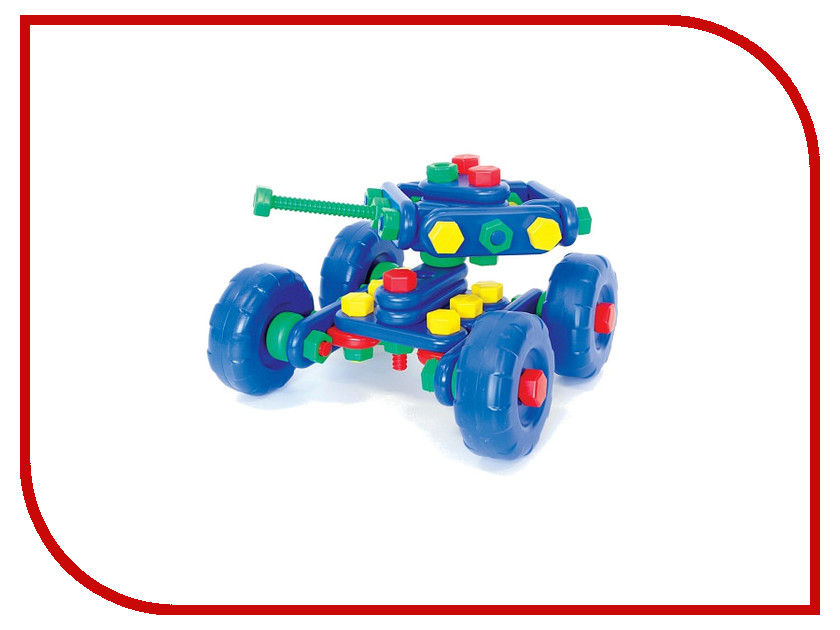 Игрушка Конструктор Класата Танк БАХ-БАХ 1310<br>