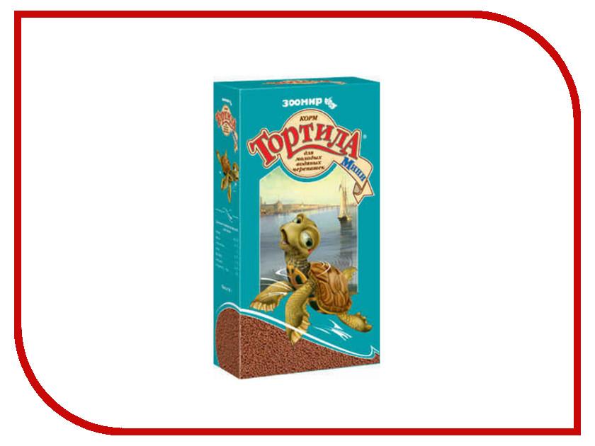 ЗООМИР Тортила Мини для молодых водяных черепах 42723<br>