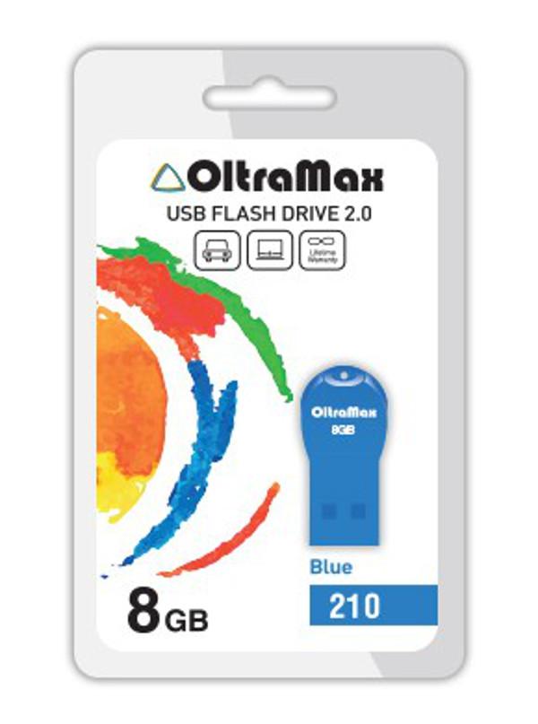 USB Flash Drive 8Gb - OltraMax 210 OM-8GB-210-Blue фото