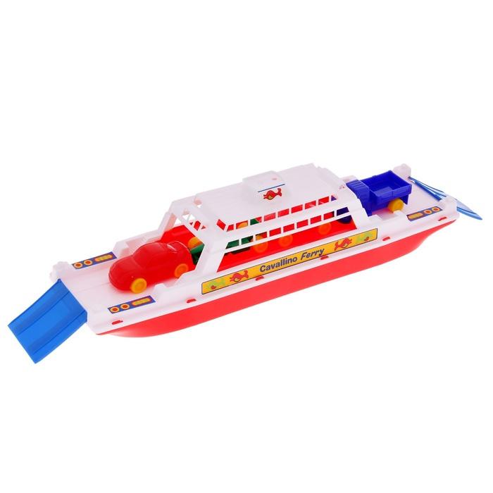 Лодка Полесье Паром Балтик + Автомобиль Мини 56689