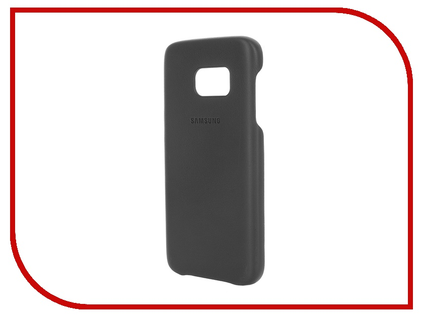 Аксессуар Чехол-накладка Samsung Galaxy S7 Leather Cover Black EF-VG930LBEGRU<br>