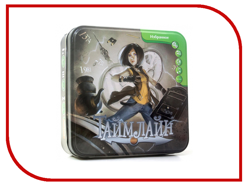 Настольная игра Asmodee Таймлайн Избранное настольная игра asmodee таймлайн избранное