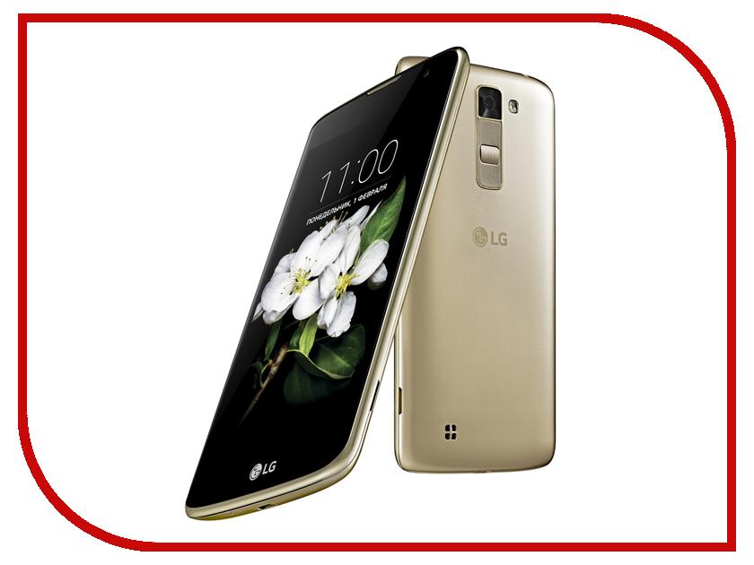 Сотовый телефон LG X210DS K7 Black-Gold<br>