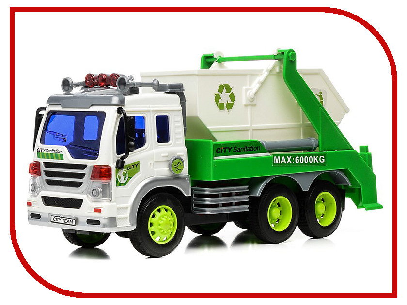 Радиоуправляемая игрушка Drift Грузовик-контейнерный мусоровоз 29630