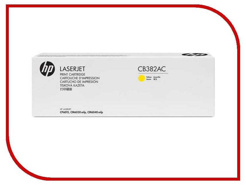 Картридж HP 382A Yellow для CP6015DN/CP6015N/CP6015XH CB382AC<br>