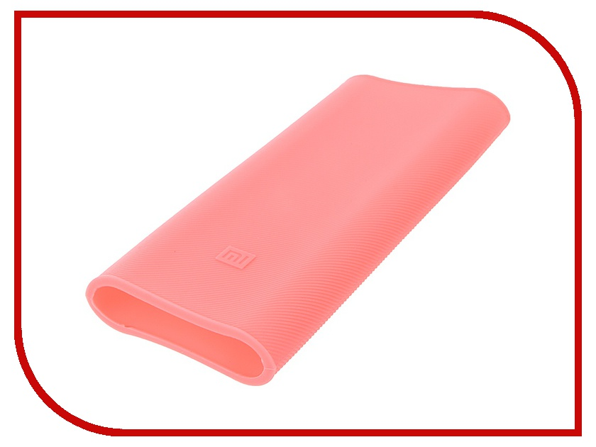 Аксессуар Чехол Xiaomi Silicone Case for Power Bank 16000 Pink<br>