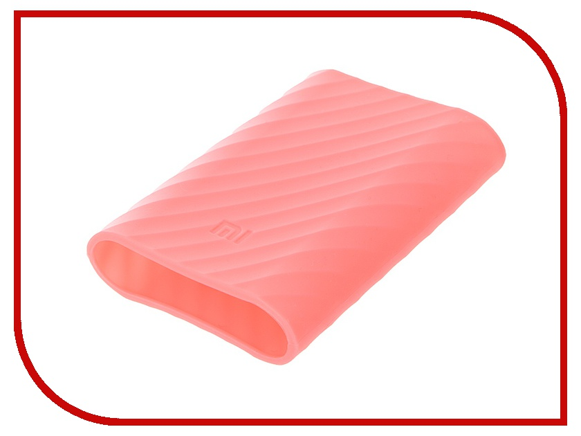 Аксессуар Чехол Xiaomi Silicone Case for Power Bank 10000 Pink