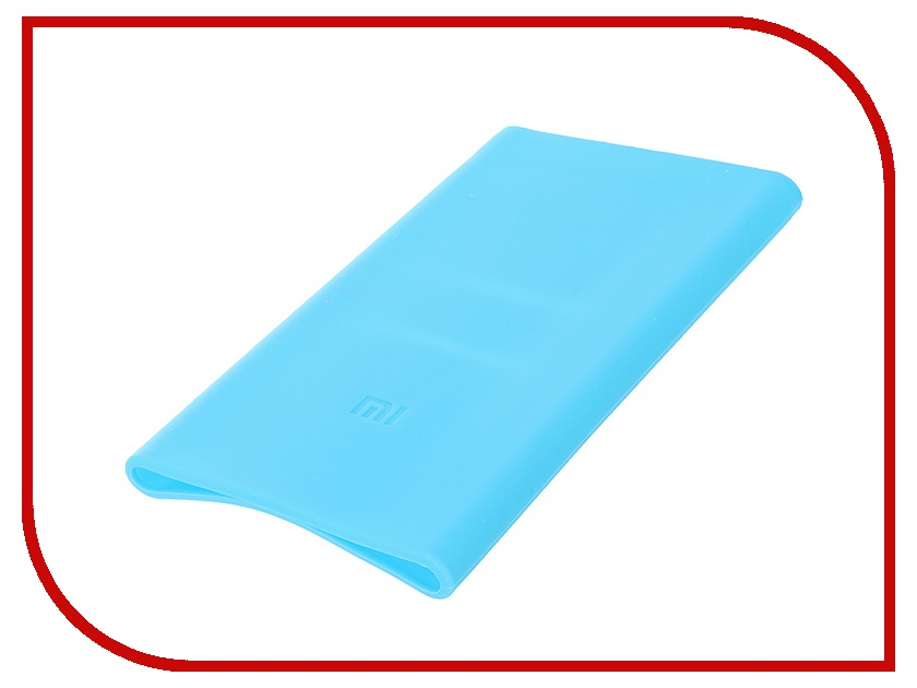 Аксессуар Чехол Xiaomi Silicone Case for Power Bank 5000 Blue аксессуар чехол xiaomi silicone case for power bank 2c 20000mah blue