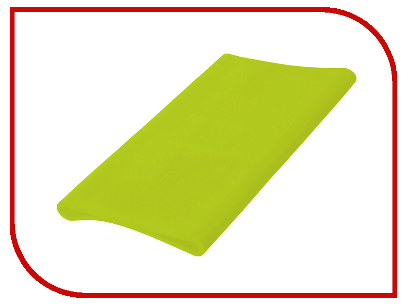 Аксессуар Чехол Xiaomi Silicone Case for Power Bank 5000 Green