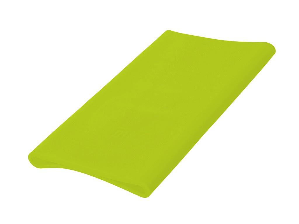 Аксессуар Чехол Xiaomi Silicone Case for Power Bank 5000 Green аксессуар чехол xiaomi silicone case for power bank 2 plm10zm 5000mah green