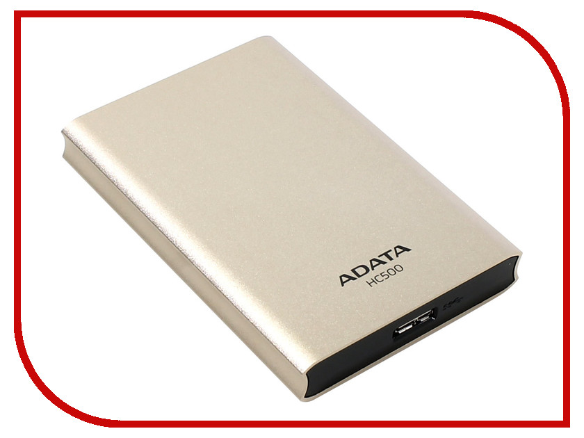 Жесткий диск A-Data Choice HC500 2Tb USB 3.0 AHC500-2TU3-CGD