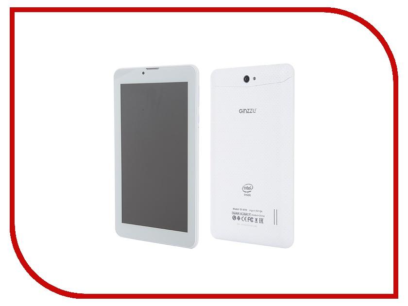 Планшет Ginzzu GT-X731 White Intel Atom x3 C3230RK 1.2 GHz/1024Mb/8Gb/GPS/3G/Wi-Fi/Bluetooth/Cam/7.0/1024x600/Android