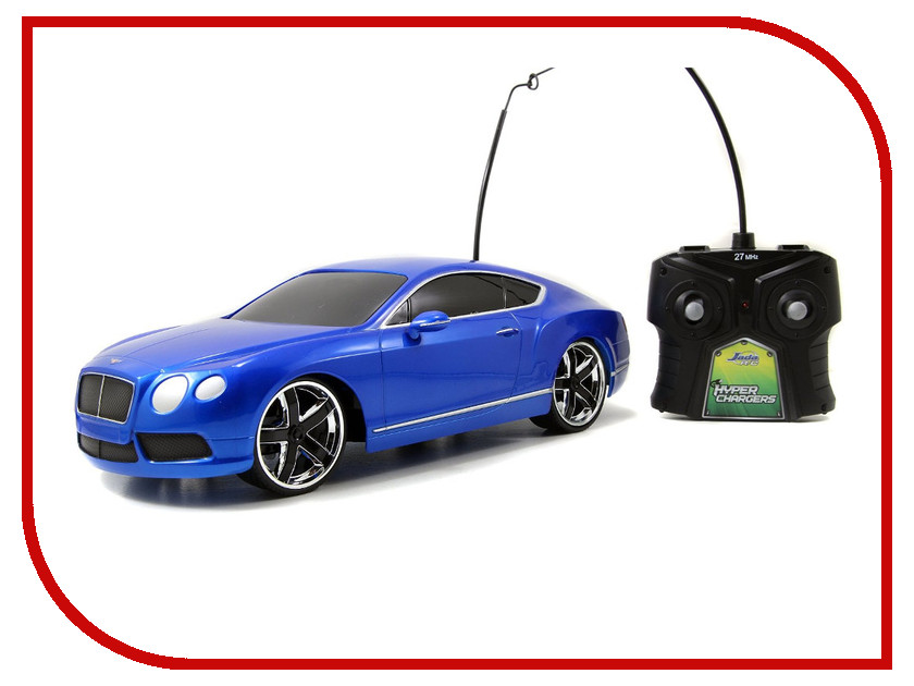 Радиоуправляемая игрушка Jada 2012 Bentley Continental GT V8 84211-2<br>