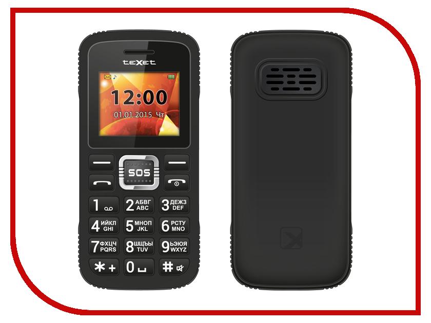 Сотовый телефон teXet TM-B119 Black<br>
