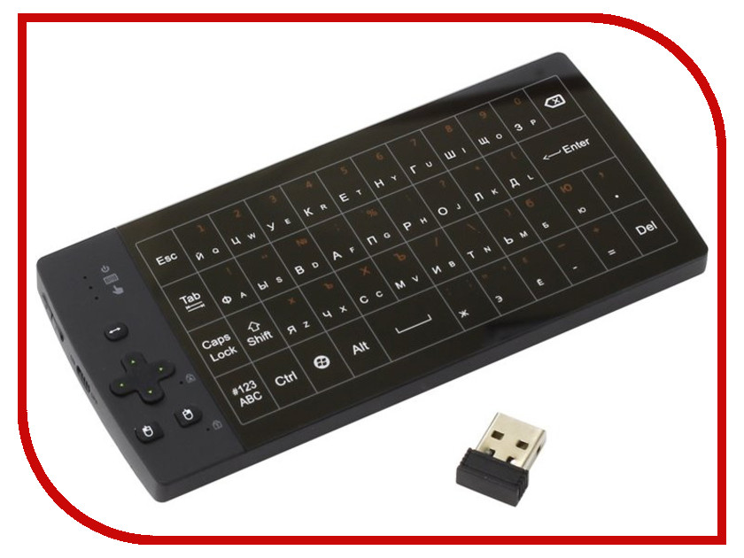 Клавиатура Upvel UM-517KB USB док станция для smart tv приставок upvel um 514c