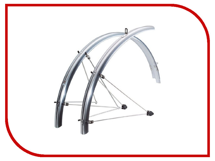 Велокрыло Велокрылья SKS Chromoplastics R26 55mm Silver NSK10123