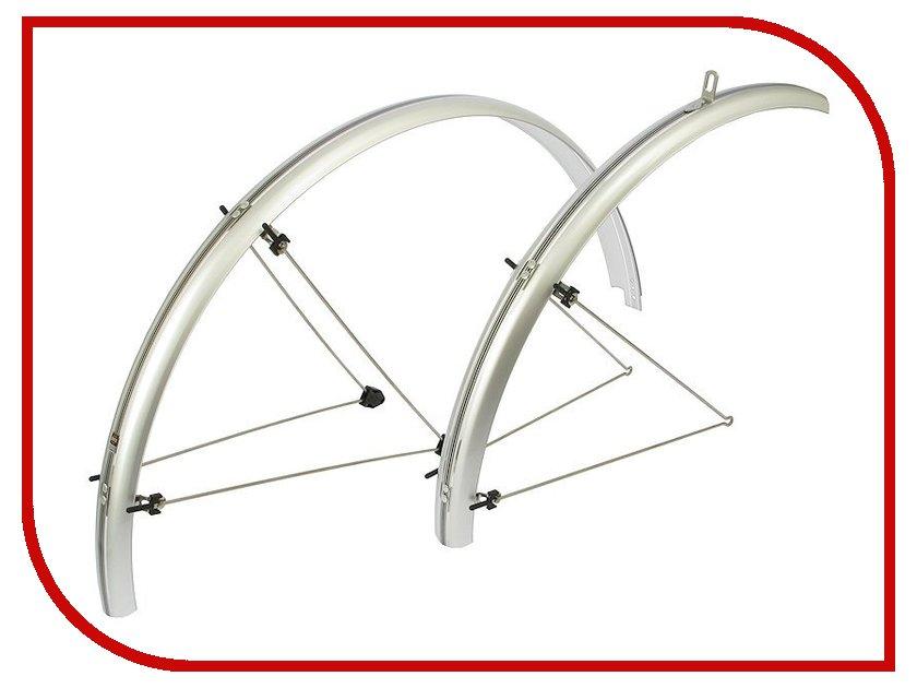 Велокрылья SKS Chromoplastics R28 45mm Silver NSK10119<br>