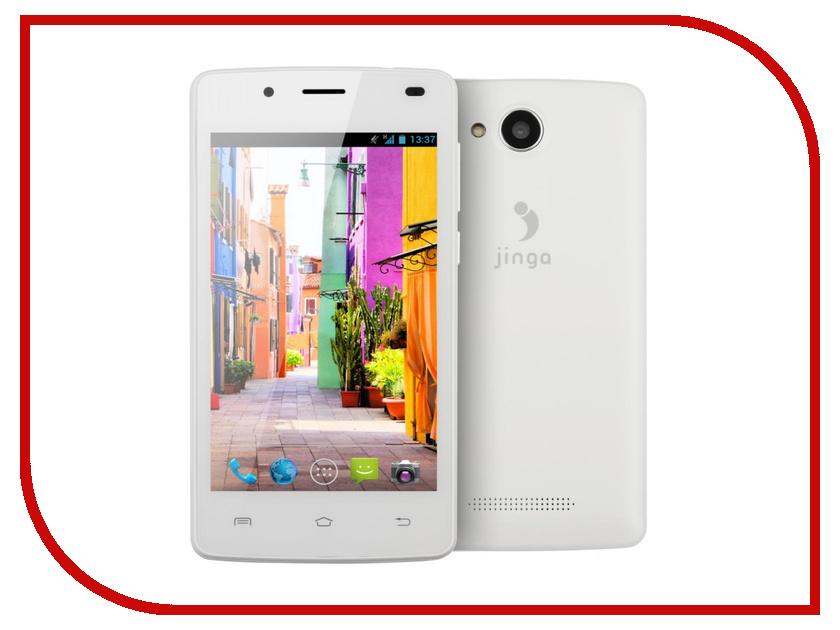 Сотовый телефон Jinga Basco L400 White<br>