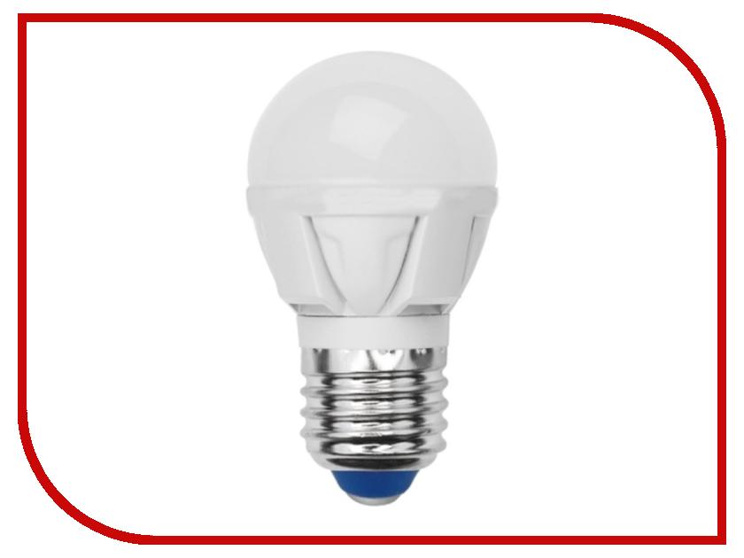 Лампочка Uniel LED-G45-6W/NW/E27/FR/DIM PLP01WH<br>