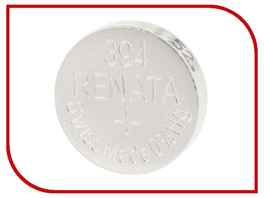 Батарейка R394 - Renata SR936SW (1 штука) батарейка r361 renata sr721w 1 штука