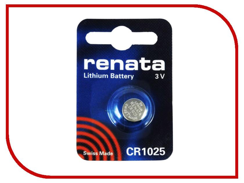 цены на Батарейка CR1025 - Renata (1 штука) в интернет-магазинах