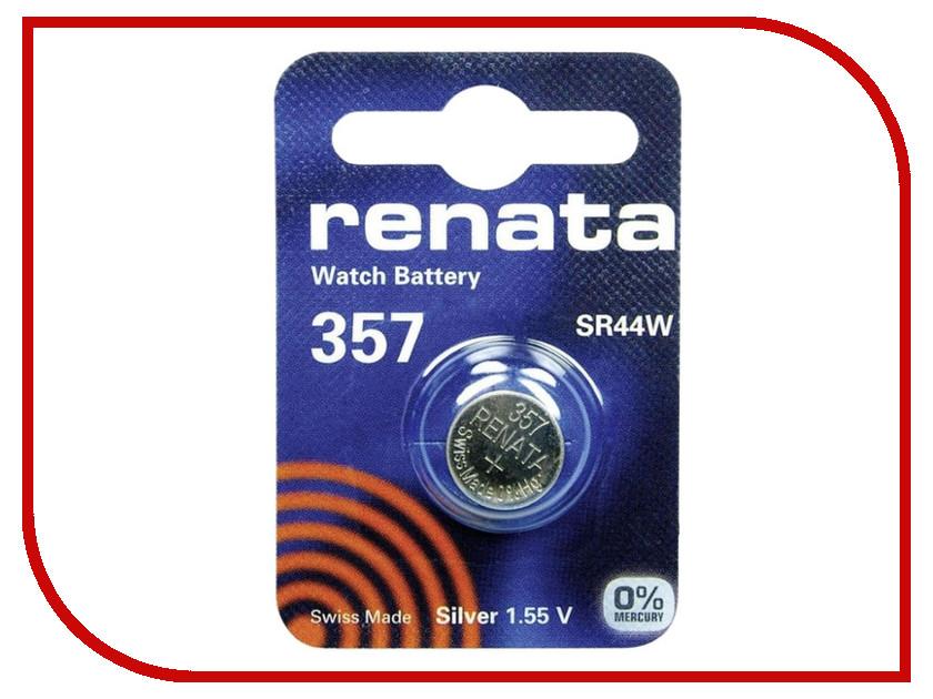 Батарейка R357 - Renata SR44W (1 штука)<br>