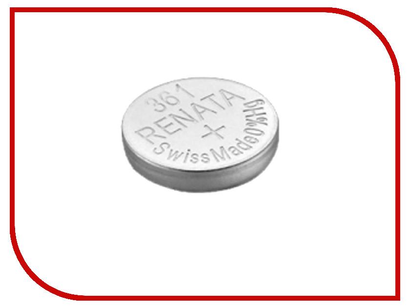 Батарейка R361 - Renata SR721W (1 штука) батарейка r361 renata sr721w 1 штука