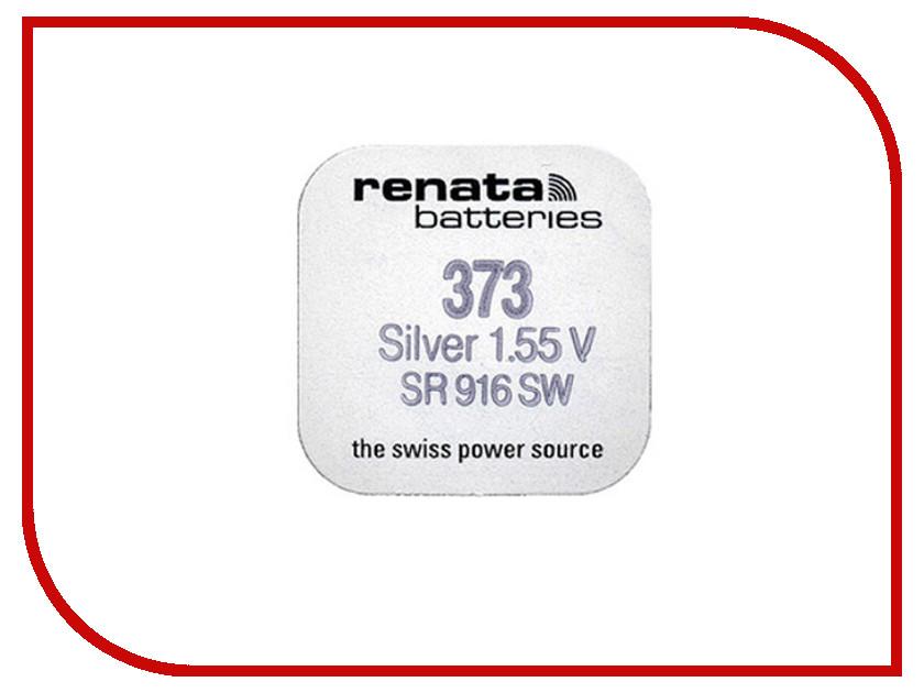 Батарейка R373 - Renata SR916SW (1 штука) батарейка r361 renata sr721w 1 штука