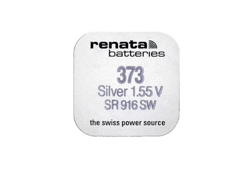 Батарейка R373 - Renata SR916SW (1 штука)