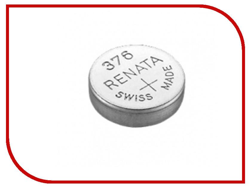Батарейка R376 - Renata SR626W (1 штука) батарейка r361 renata sr721w 1 штука
