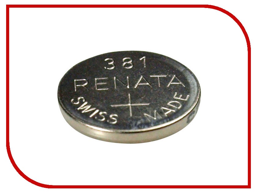 Батарейка R381 - Renata SR1120SW (1 штука)<br>