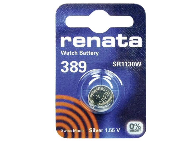 Батарейка R389 - Renata SR1130W (1 штука)<br>