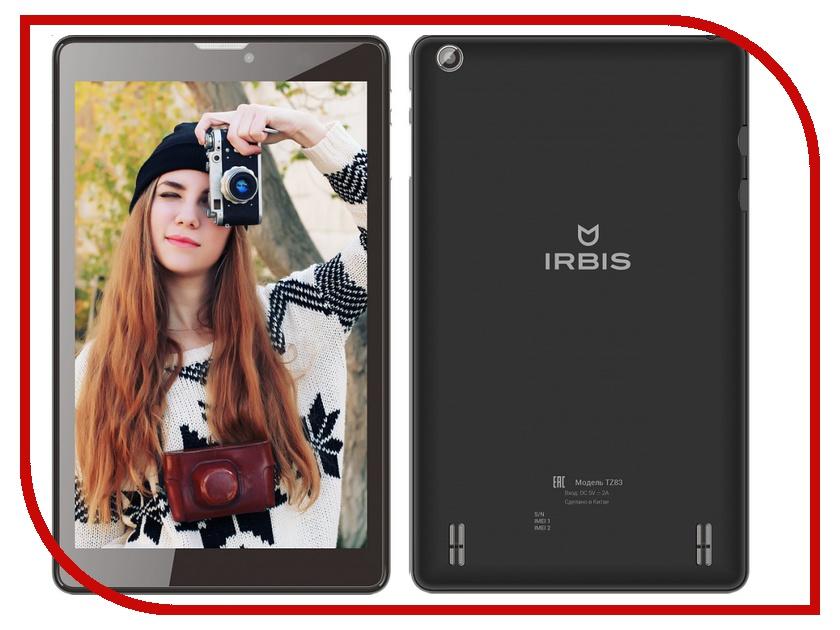 Планшет Irbis TZ83 MediaTek MTK8735P 1.0 GHz/1024Mb/8Gb/GPS/LTE/3G/Wi-Fi/Bluetooth/Cam/8.0/1280x800/Android