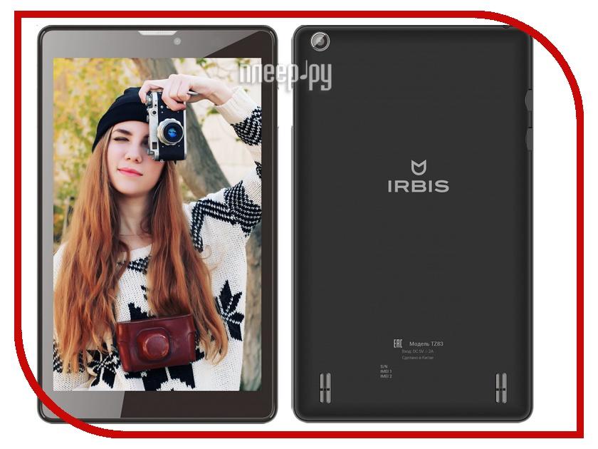 Планшет Irbis TZ84 LTE Black MediaTek MTK8735P 1.0 GHz/1024Mb/8Gb/GPS/LTE/3G/Wi-Fi/Bluetooth/Cam/8.0/1280x800/Android