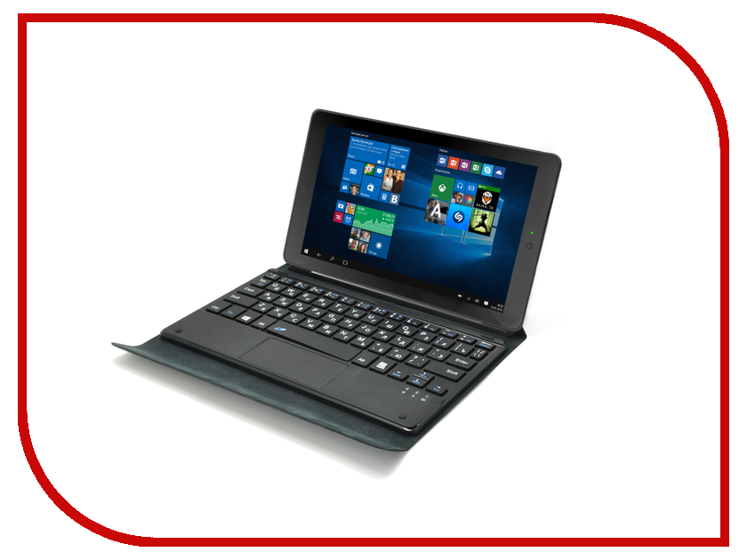Планшет Irbis TW38 Black (Intel Atom Z3735G 1.33 GHz/1024Mb/16Gb/Wi-Fi/Cam/8.9/1280x800/Windows 10)<br>