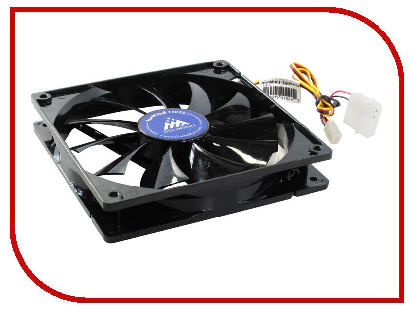 Вентилятор GlacialTech IceWind 14025 цена