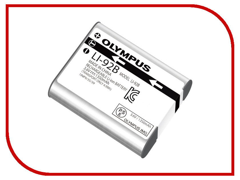 Аккумулятор Olympus Li-92B V6200660E000